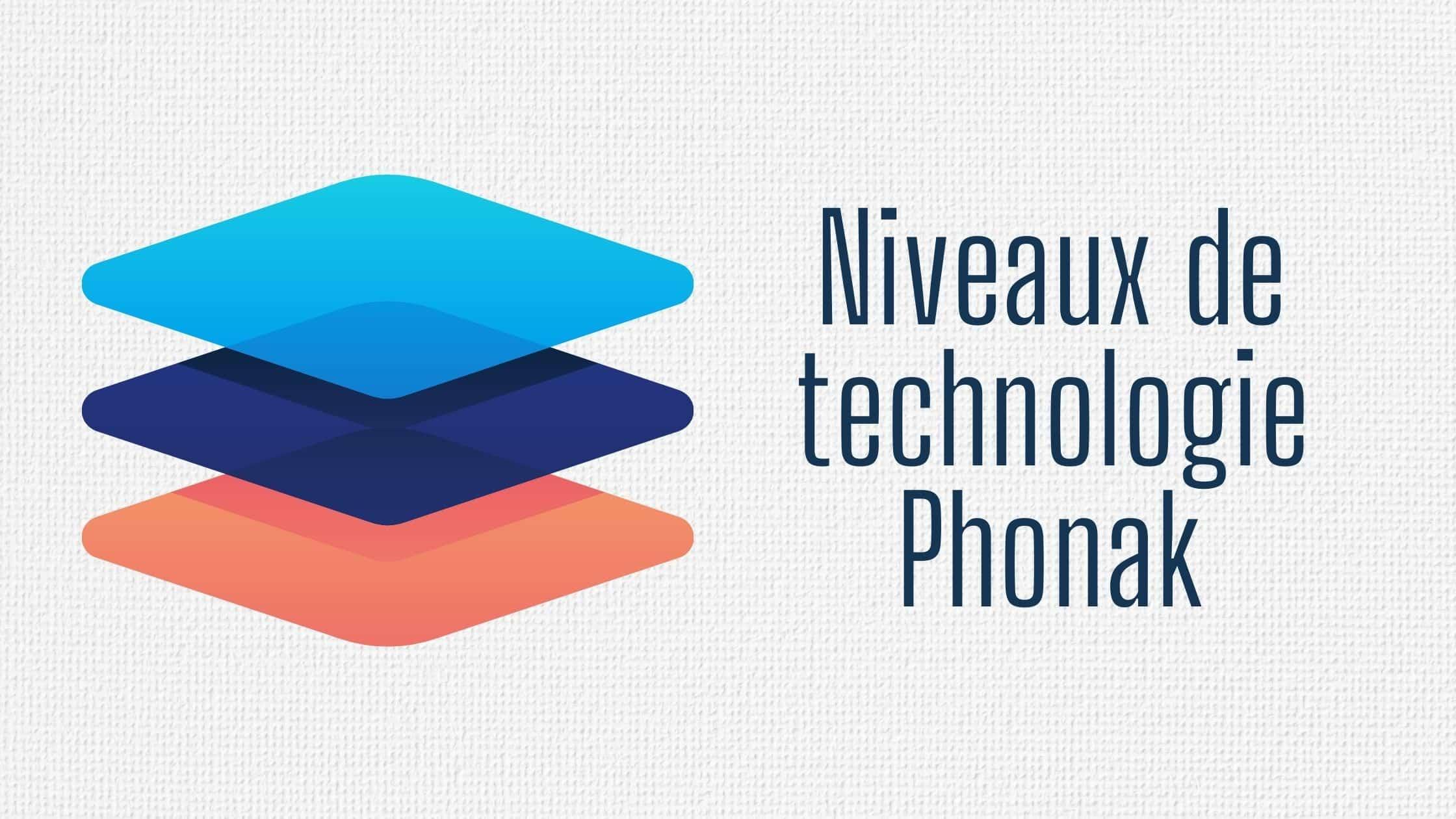 Niveaux de technologie Phonak